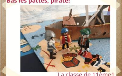 Les 11èmes de l'Ecole de Provence vous présentent leur interprétation de «Bas les pattes pirates !» !